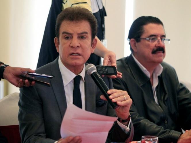 Nasralla presenta evidencias de fraude en Honduras