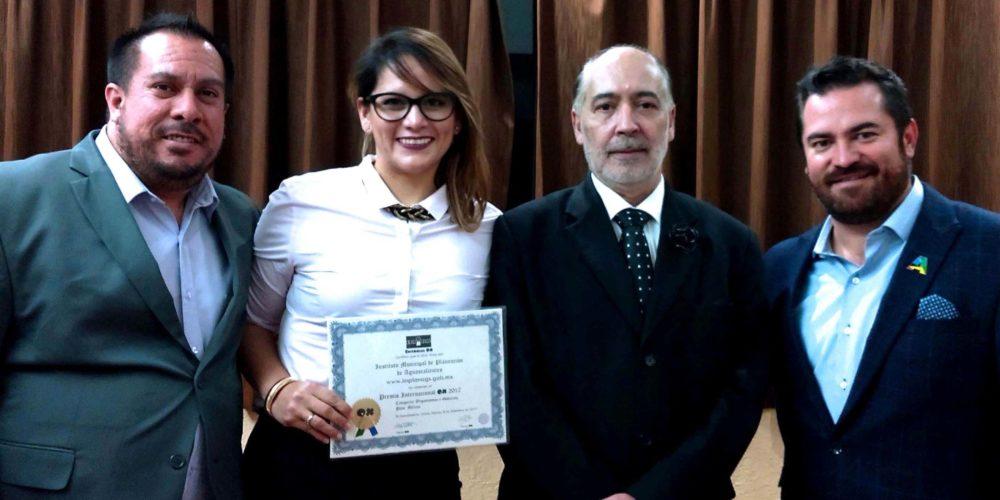 MuniAgs recibe galardón internacional gracias al portal web del Implan