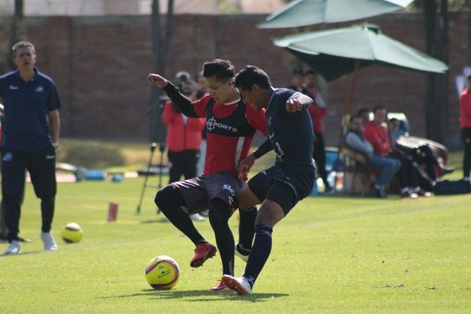 Necaxa enfrentó al Celaya en partido amistoso