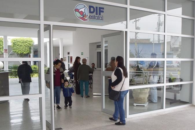 Suspenden actividades en la Dir. de Servicios Médicos del DIF Estatal por vacaciones