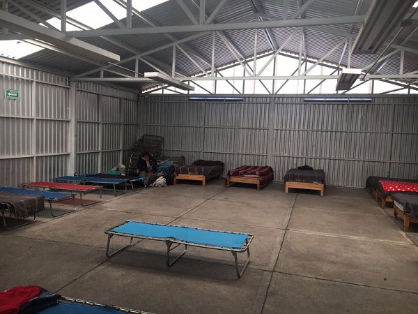 Refugio temporal por frentes fríos abre el 23 de noviembre: PC