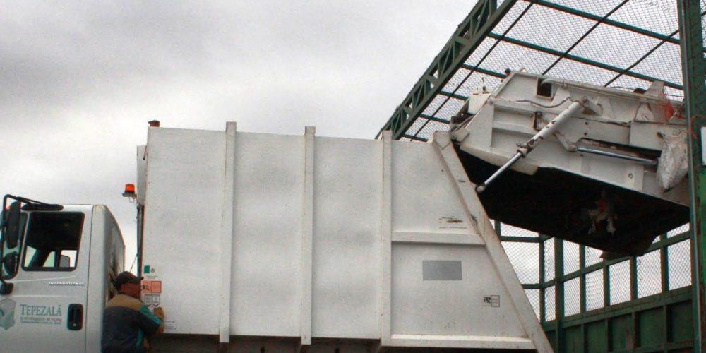 SMAE recolectó 24 mil toneladas de residuos en las estaciones de transferencia en 2017