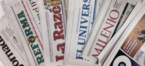 Prensa mexicana controlada en su mayor parte por Los Pinos: NYT