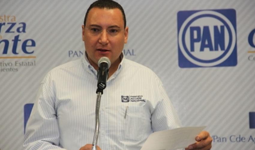 El PAN en Aguascalientes está unido: Paulo Martínez