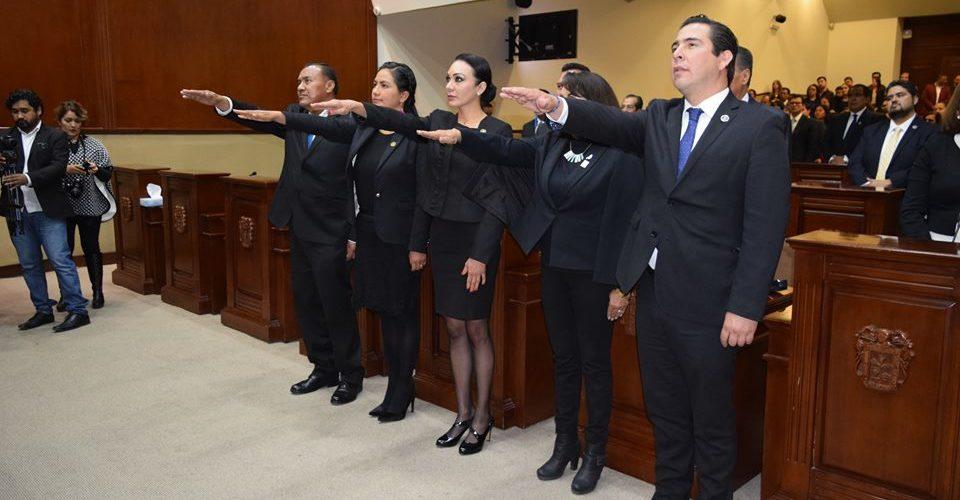 Citlalli Rdz primera mujer que encabeza mesa directiva del CongresoAgs