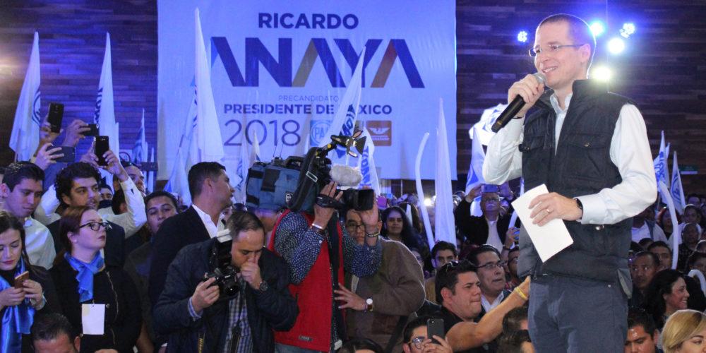Promete Anaya respetar y dar seguridad a periodistas si gana elecciones