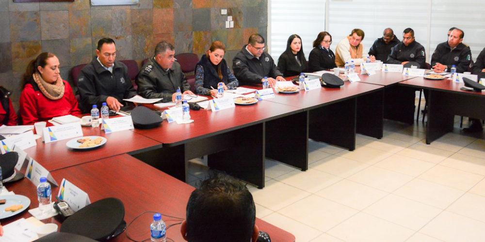 Refrenda alcaldesa de Ags compromiso para fortalecer la seguridad en 2018