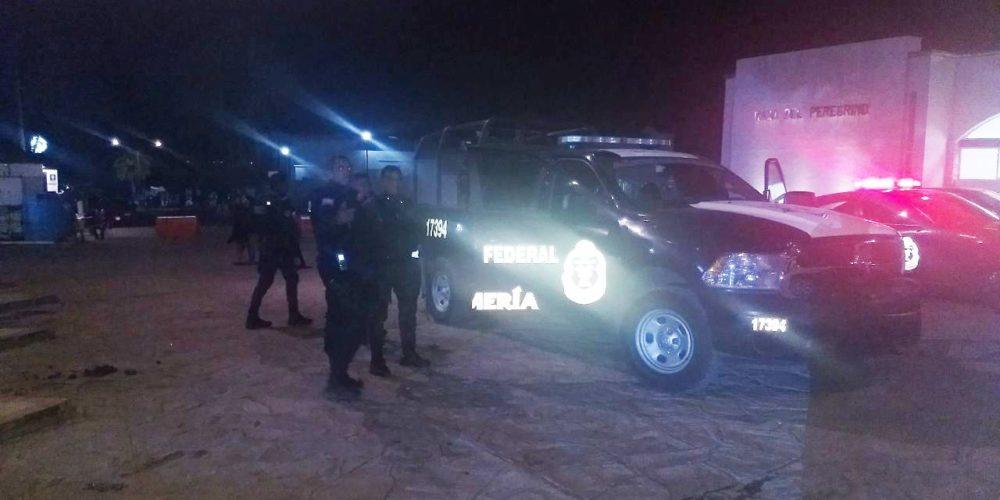 Policía Estatal resguarda a feriantes de San José de Gracia