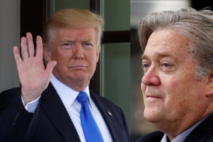 Trump amenaza a su exasesor de campaña por revelar traición con los rusos