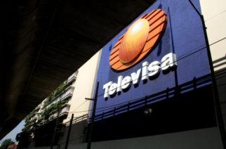 Fachada de las instalaciones de Televisa en Periferico Sur, a la altura de Altavista.  Iyari Tirado Burnat / Procesofoto / DF / 070604