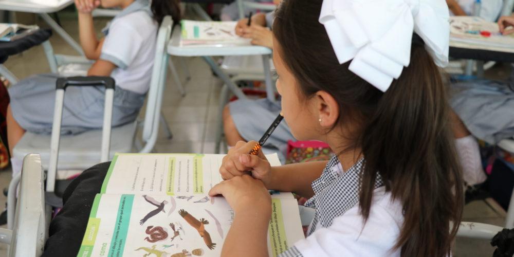 Todos los alumnos de educación básica ya están inscritos en nuevo ciclo escolar: IEA