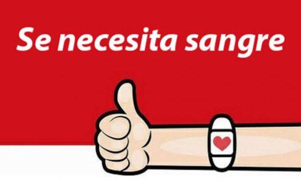 Se solicita sangre de manera urgente en Aguascalientes