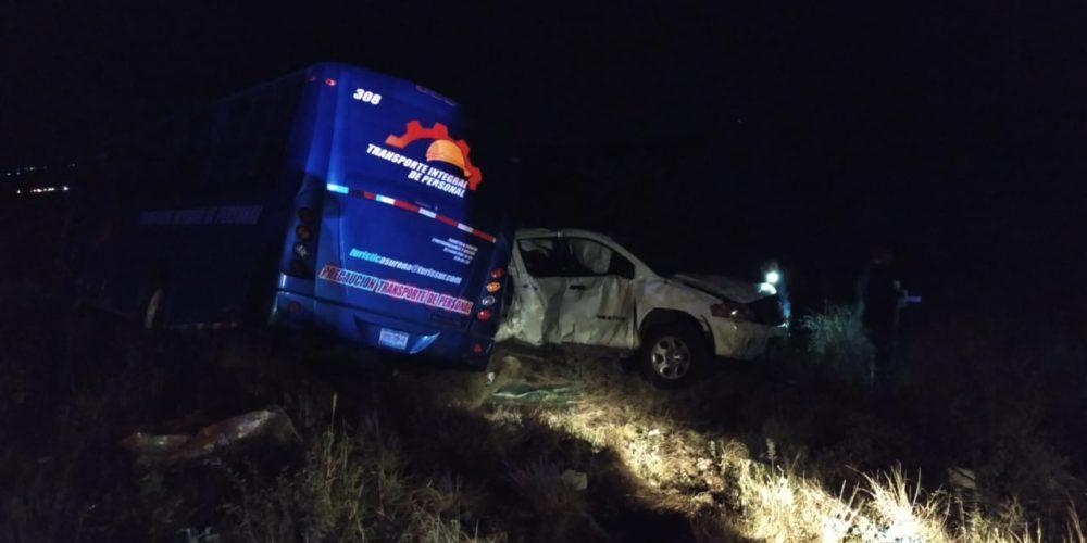 Al borde de la muerte policía ministerial de Aguascalientes tras choque