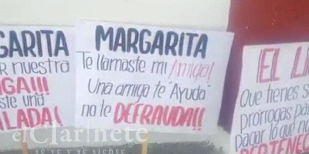 Traidora le dicen a Margarita Gallegos candidata a diputada del PRI en Ags