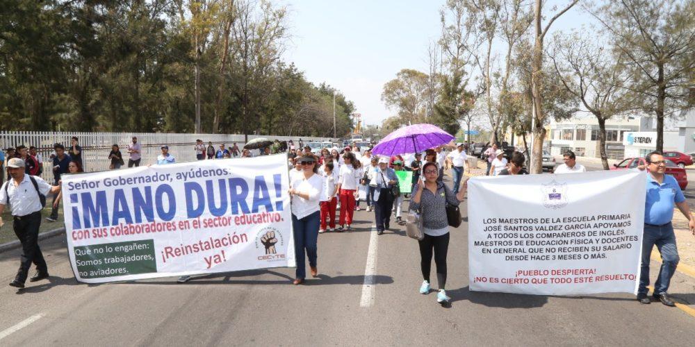 'Teachers' recriminan a Ricardo Anaya actos de Martín Orozco en su contra