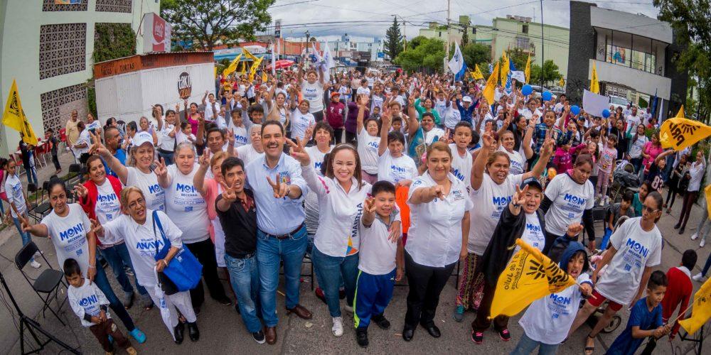 Quiere Martha González mejorar la calidad de vida de las familias de Ags