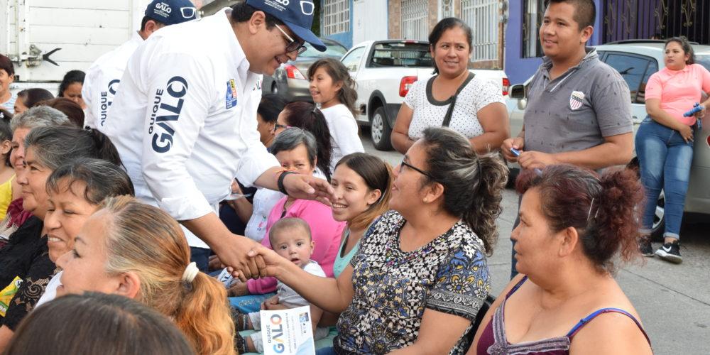 Enrique Galo refrenda su compromiso con los ciudadanos