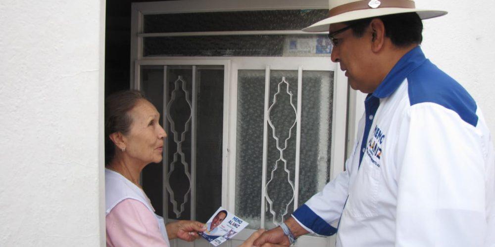Memo Alaniz propone otorgar mayor presupuesto a la salud
