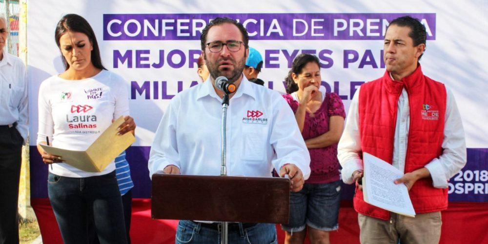 Pugnará José Carlos Lozano por erradicar violencia de género y contra adultos mayores