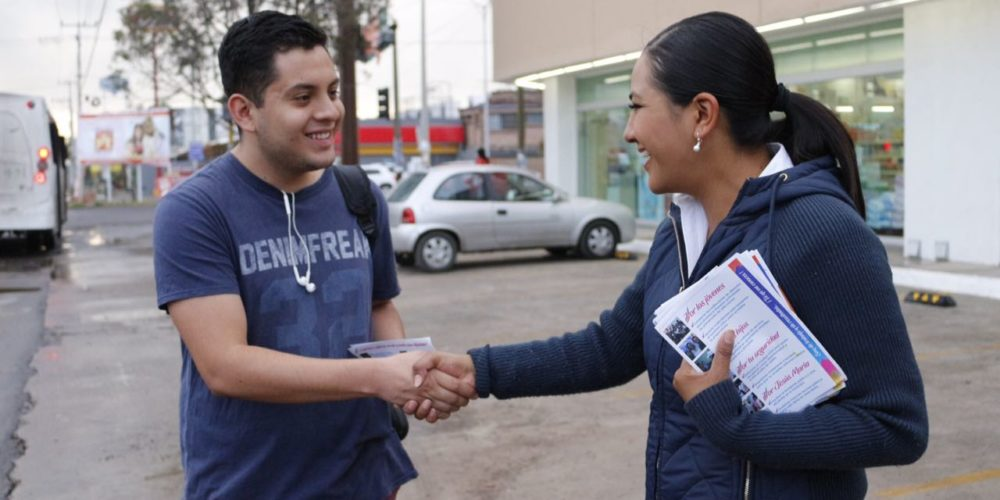 Voy al frente por Aguascalientes: Lupita de Lira