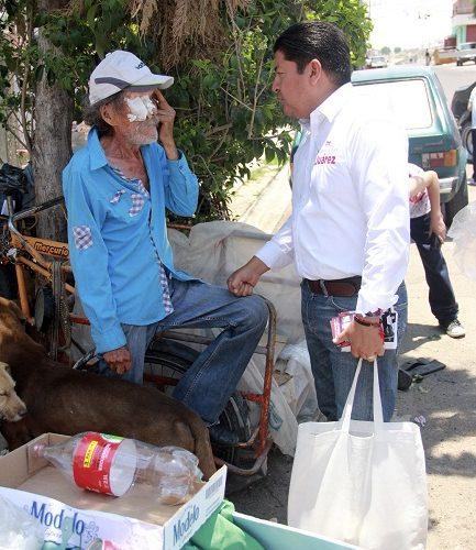 Impulsará Juárez Frías la creación del Instituto del Adulto Mayor