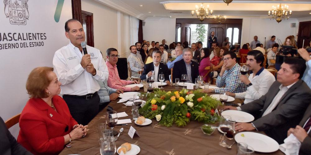 GobAgs y sector turístico mantienen lazos de colaboración