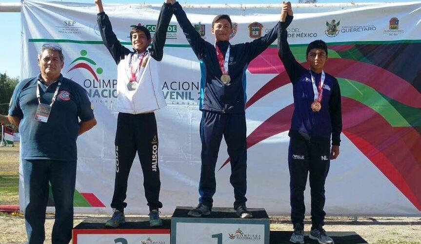 Aguascalientes sobresale en Pentatlón Moderno dentro de la Olimpiada Nacional 2018