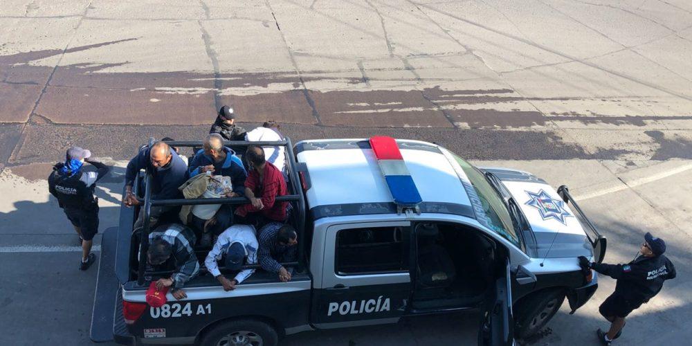 Denuncian presunto abuso de autoridad de Policías Municipales de Ags