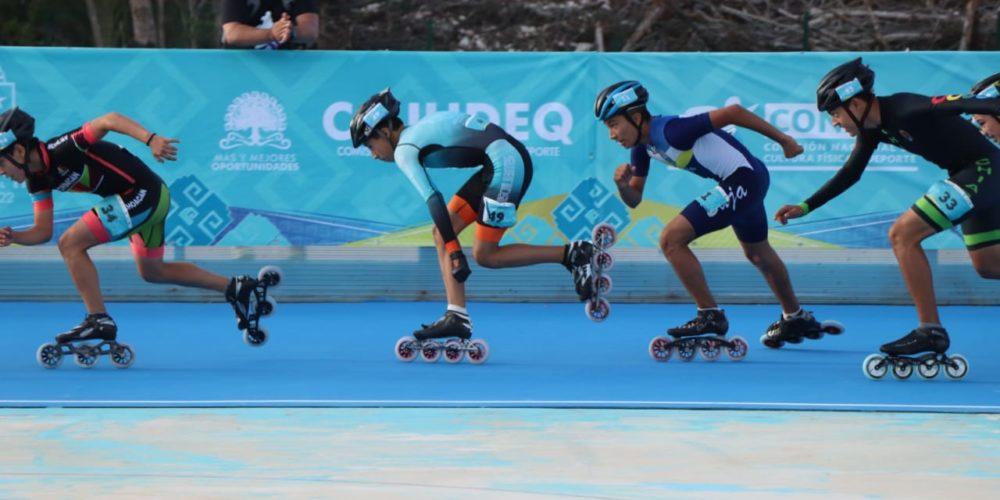 Patinadores dan la cara por Aguascalientes en ON2018