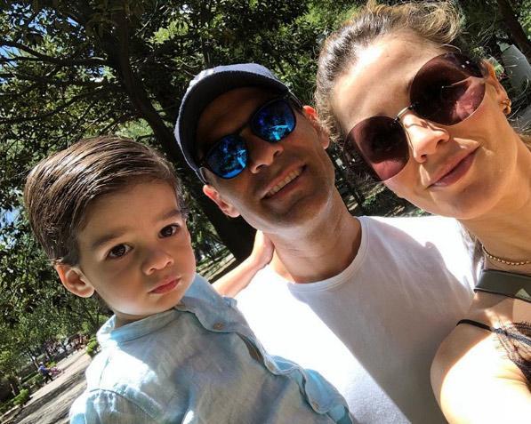La adorable reacción del hijo de Rafa Márquez al reencontrarse para celebrar