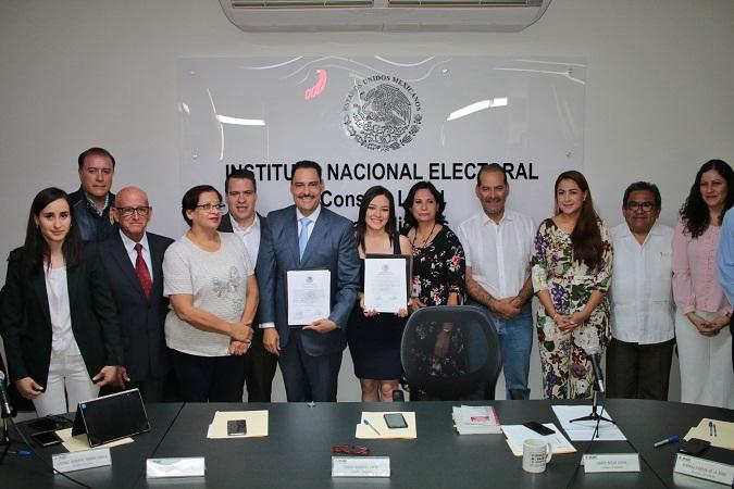 Oficializa INE senaduría para Toño Martín del Campo