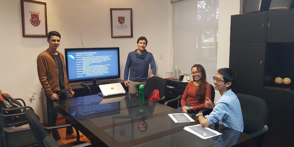 Alumnos de la UP Bonaterra desarrollan proyecto para integrar dron a impresora 3D