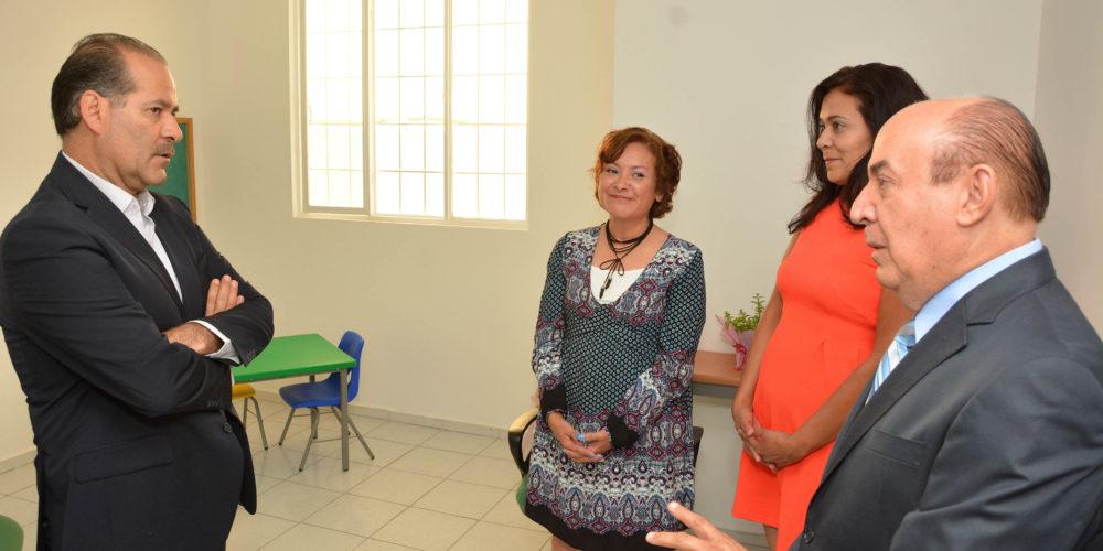 Inauguran centro de atención psicológica infantil en Aguascalientes