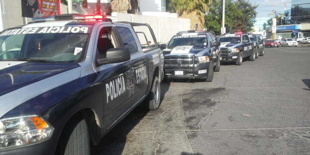 Detienen a 3 sujetos que asaltaron gasolinera en Aguascalientes