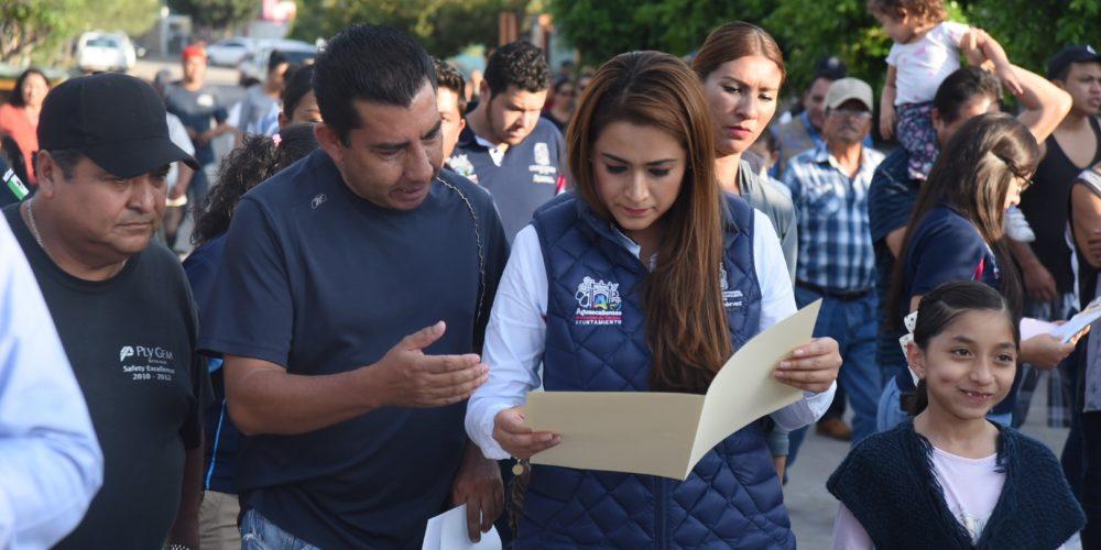 Recorre la alcaldesa de Aguascalientes colonias de la ciudad