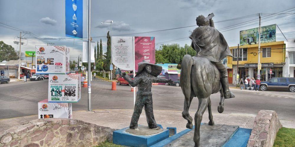 Restituyeron monumento a Los Chicahuales en Jesús María