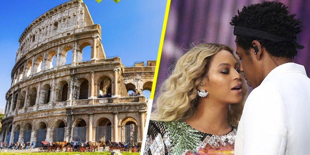 Beyoncé quiso apartar el Coliseo de Roma, pero se lo negaron