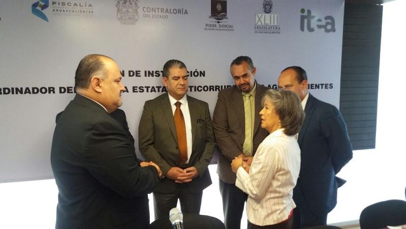 Entrevistan a aspirantes a la Secretaría Técnica del Sistema Estatal Anticorrupción