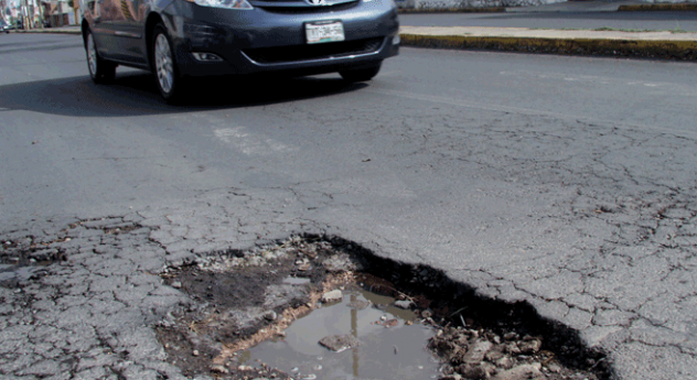 Los baches siguen siendo el principal dolor de cabeza para habitantes de Aguascalientes