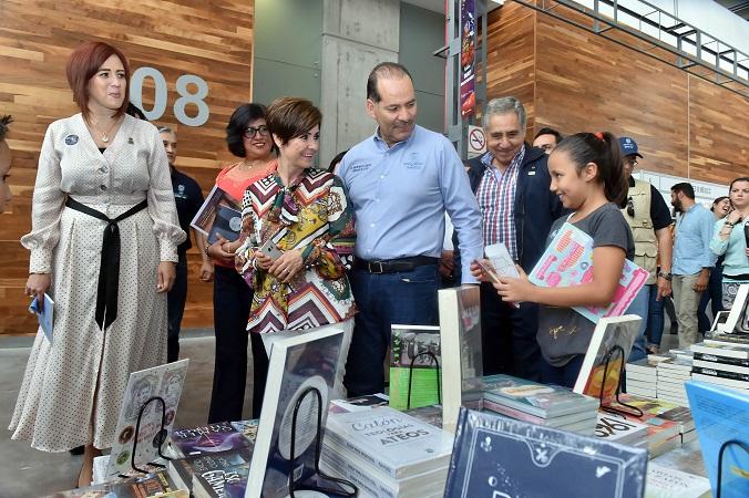 Inauguran la edición 50 de la Feria del Libro de Aguascalientes