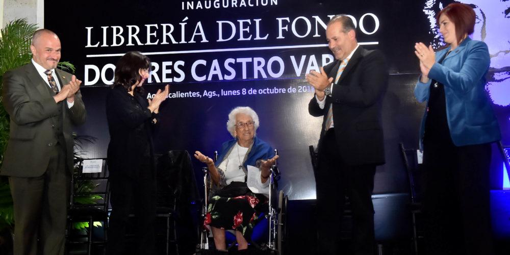 """Orozco inaugura librería """"Dolores Castro"""" del Fondo de Cultura Económica"""