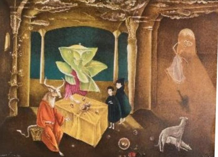 Donan a Ags obra de la artista Leonora Carrington