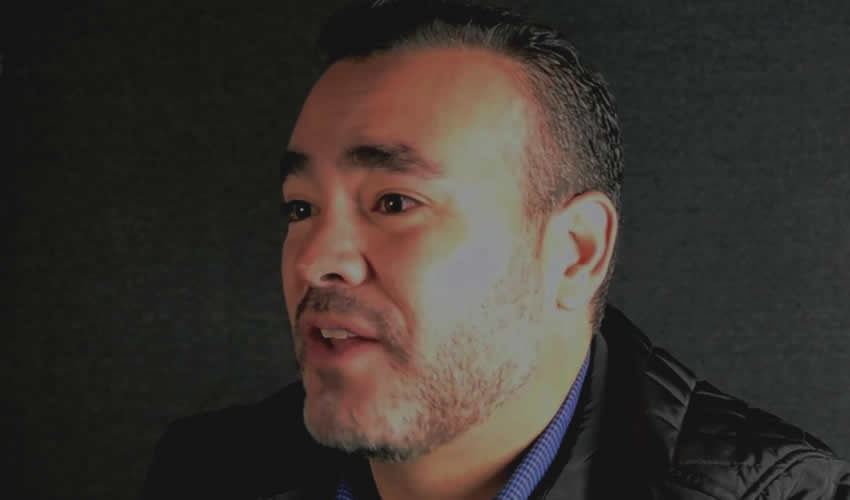 Mauricio González, el independiente a modo