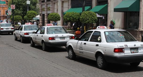 Ser taxista en Aguascalientes en la pandemia