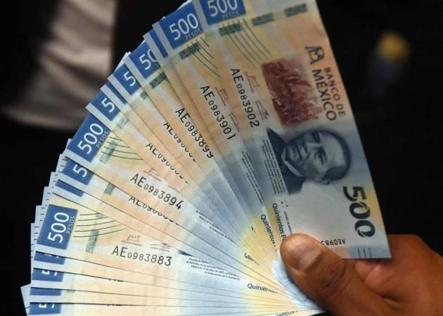 Proponen banqueros eliminar billetes de 500 y 1,000 pesos