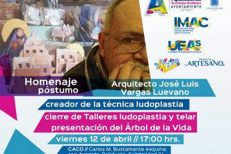 Realizarán homenaje al Arquietcto José Luis Vargas