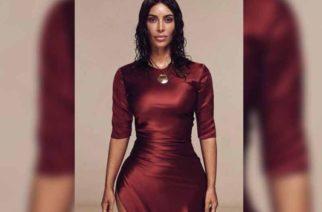 Kim Kardashian muestra sus curvas en playas mexicanas