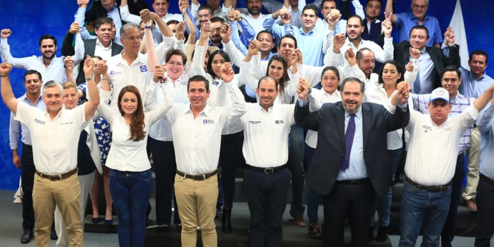 Tere Jiménez arrasará en Aguascalientes: Marko Cortés
