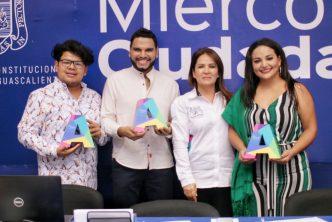 Miriam Rodríguez reconoce a jóvenes talento de Aguascalientes