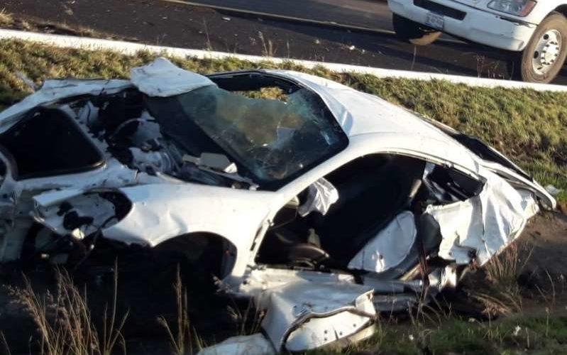 Muere sobrino del titular de la SHCP tras volcar su vehículo en la Puebla-Atlixco